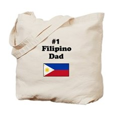#1 Filipino Dad Tote Bag