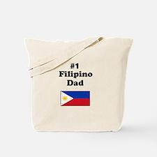 #1 Filipino Dad Tote Bag