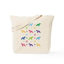 Schnauzer Designer Tote Bag