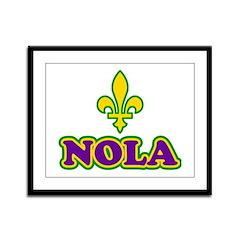 NOLA Framed Panel Print
