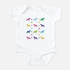 Schnauzer Designer Infant Bodysuit