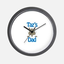 Taz's Dad Wall Clock