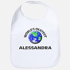 World's Okayest Alessandra Bib