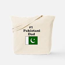 #1 Pakistani Dad Tote Bag