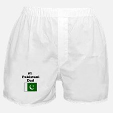 #1 Pakistani Dad Boxer Shorts