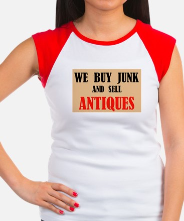 SELL ANTIQUES Women's Cap Sleeve T-Shirt