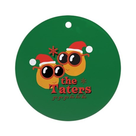 Taters Go Ho (round) Round Ornament