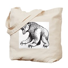 Fierce Bear Tote Bag