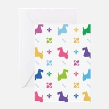 Scottie Designer Greeting Card