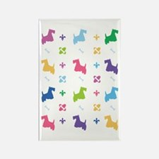 Scottie Designer Rectangle Magnet