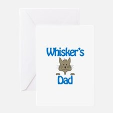 Whiskers' Dad Greeting Card