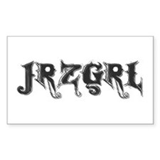 JRZGRL (Jersey Girl) Rectangle Decal