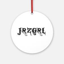 JRZGRL (Jersey Girl) Ornament (Round)