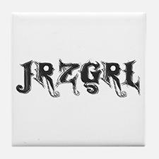 JRZGRL (Jersey Girl) Tile Coaster