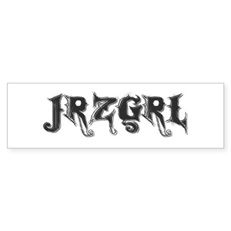 JRZGRL (Jersey Girl) Bumper Sticker