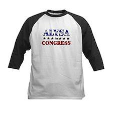 ALYSA for congress Tee