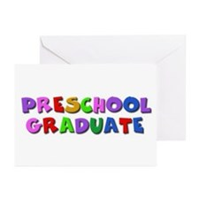 Preschool graduate Greeting Cards (Pk of 10)