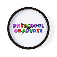 Preschool graduate Wall Clock