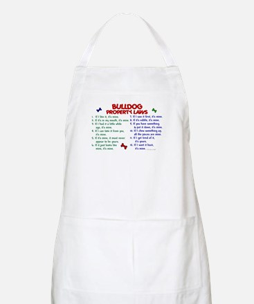 Bulldog Property Laws 2 BBQ Apron