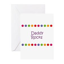 Daddy Rocks Greeting Cards (Pk of 10)