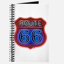 Route 66 neon Journal