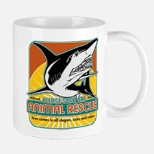 Animal Rescue Shark Mug