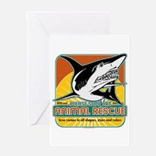 Animal Rescue Shark Greeting Card
