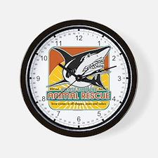 Animal Rescue Shark Wall Clock