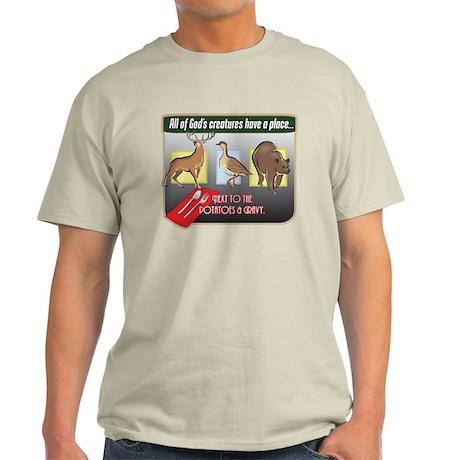 All of God's Creatures Light T-Shirt