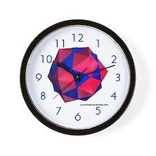 Dodeca-Icosa Wall Clock