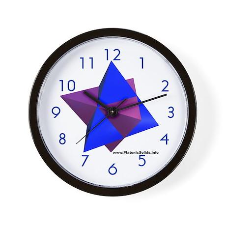 Tetra-Tetra Wall Clock
