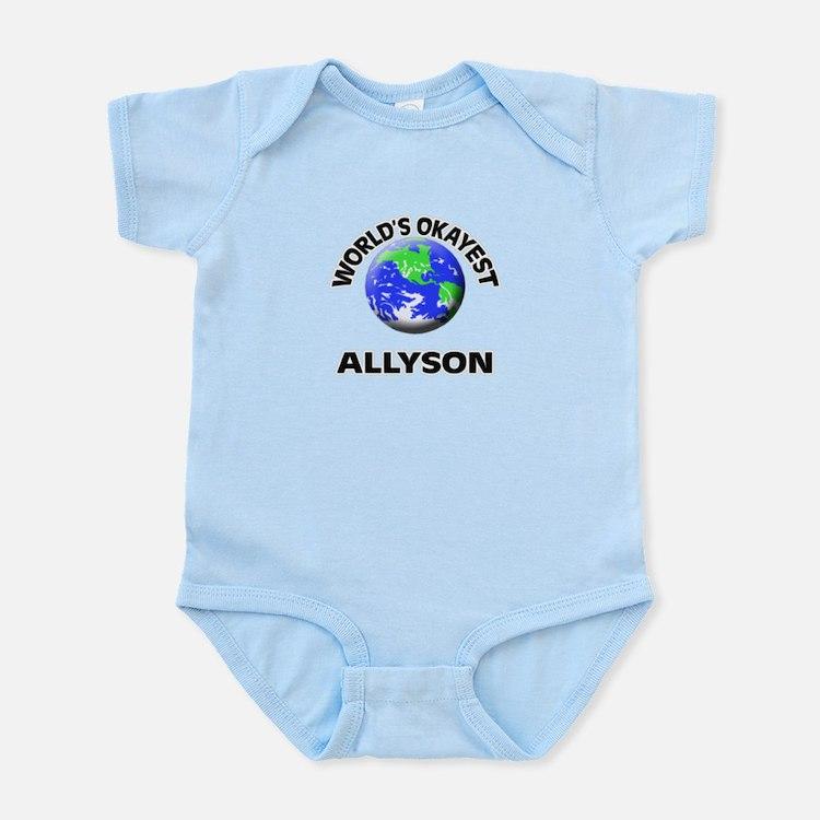 World's Okayest Allyson Body Suit