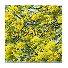 Acacia Sneezes Tile Coaster