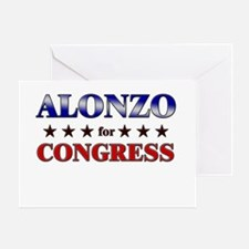 ALONZO for congress Greeting Card