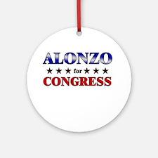 ALONZO for congress Ornament (Round)