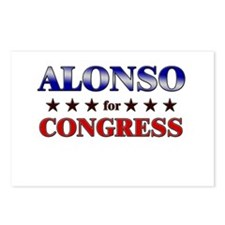 ALONSO for congress Postcards (Package of 8)