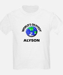 World's Okayest Alyson T-Shirt