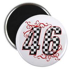 Race Car #46 Magnet
