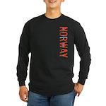 Norway Stamp Long Sleeve Dark T-Shirt