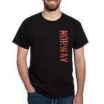Norway Stamp Dark T-Shirt
