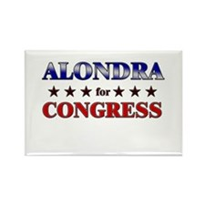 ALONDRA for congress Rectangle Magnet