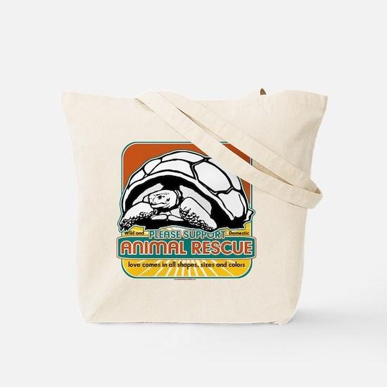 Animal Rescue Turtle Tote Bag