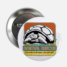"""Animal Rescue Turtle 2.25"""" Button (10 pack)"""