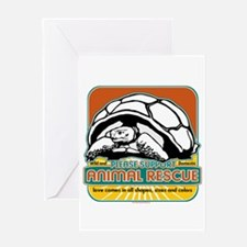 Animal Rescue Turtle Greeting Card