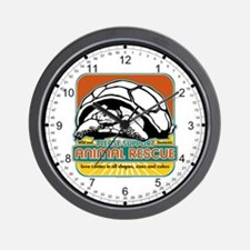 Animal Rescue Turtle Wall Clock