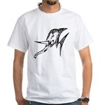 Tribal Elephant White T-Shirt