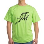 Tribal Elephant Green T-Shirt