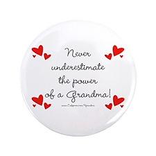 "Grandma Power 3.5"" Button"