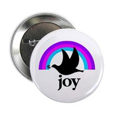 """Doves Of Joy 2.25"""" Button (100 pack)"""