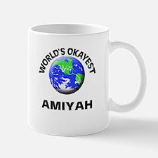 World's Okayest Amiyah Mugs